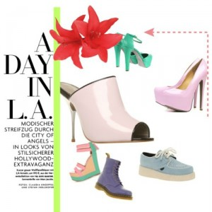 Pastel & Mint Shoes