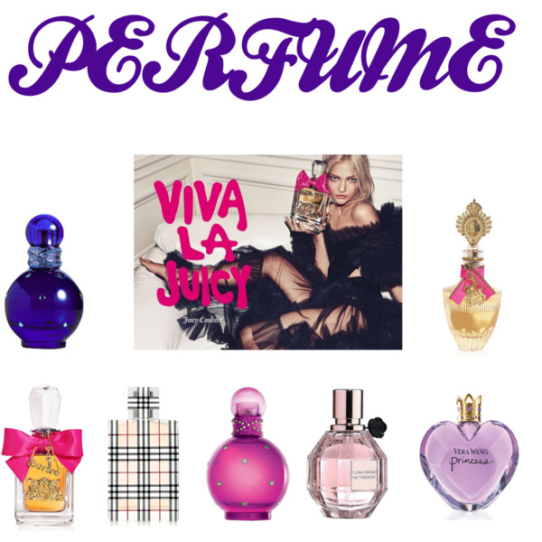 MY PERFUME COLLECTION! 2012
