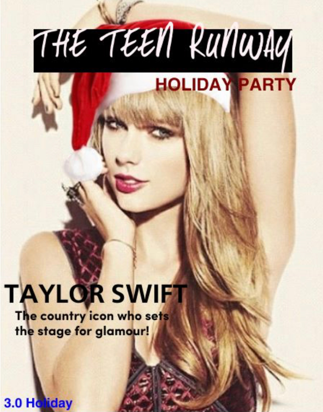 THE TEEN RUNWAY Magazine – Holiday Party 2013!