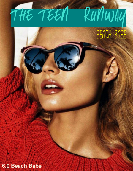THE TEEN RUNWAY Magazine – Beach Babe 2014