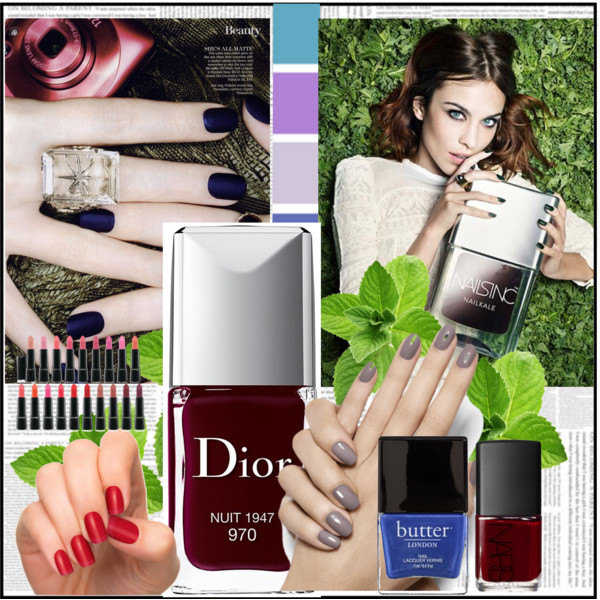 Fall 2014 Makeup & Nail Trends!