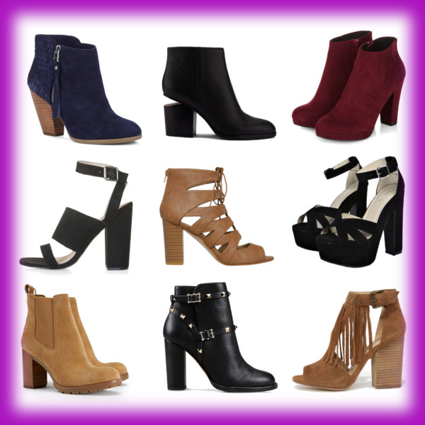 Chunky Heels: The New Stiletto!