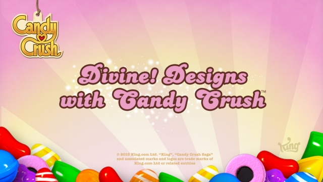 Divine Designs with Candy Crush!