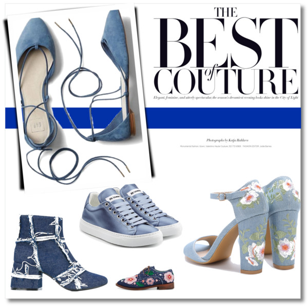 Best in Blue: Shoes!