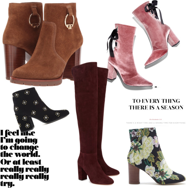 Stylish Boots for Fall 2017!