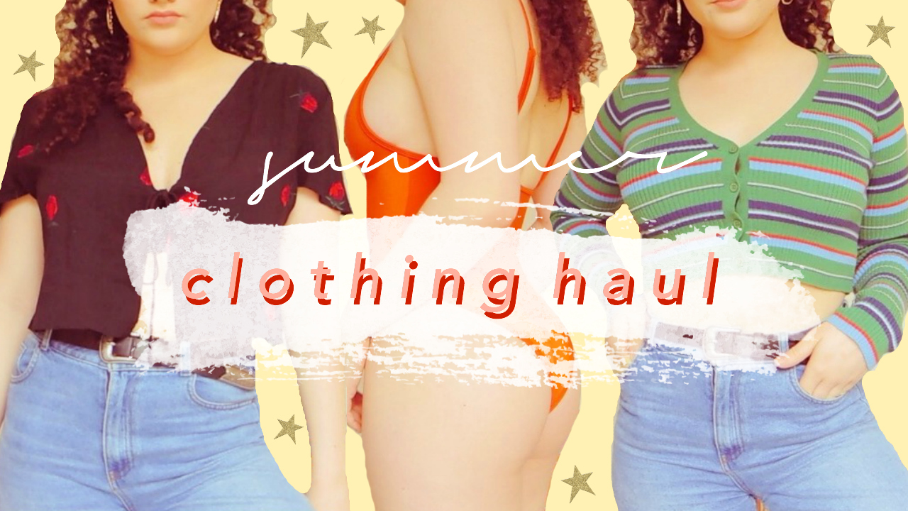 VIDEO: Summer Clothing Haul with Coco Day!