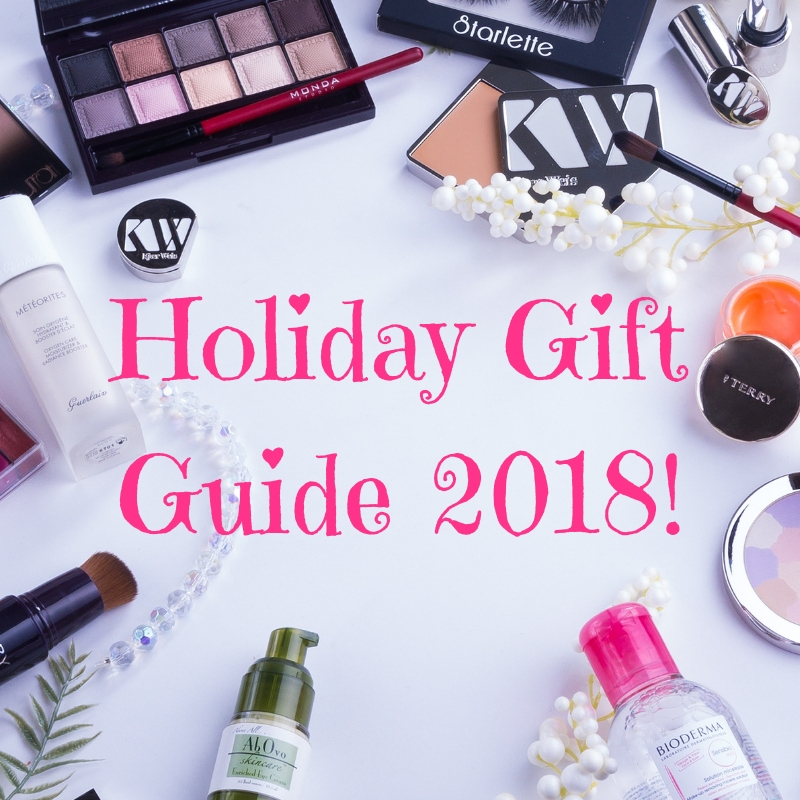 2018 Holiday Gift Guide: Beauty!