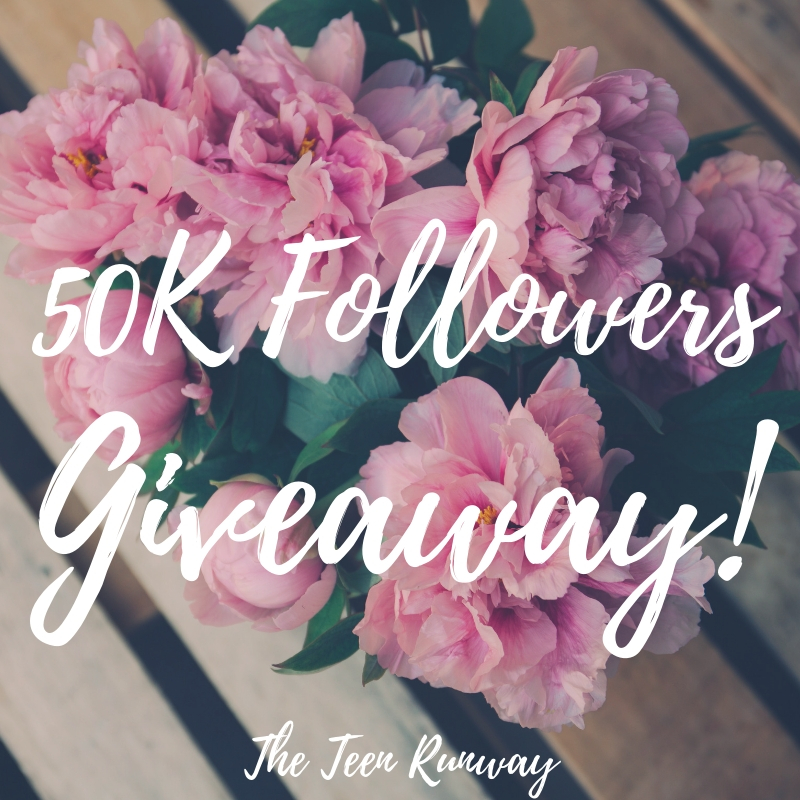 50K FOLLOWERS GIVEAWAY!