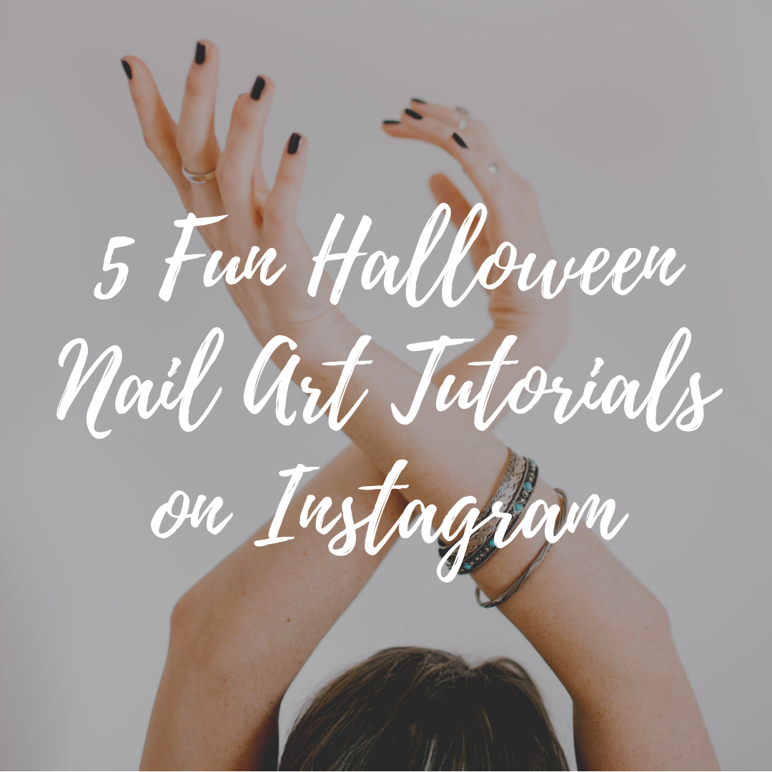 5 Fun Halloween Nail Art Tutorials on Instagram